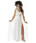 Athenian Goddess Halloween Costume Adult Womans Large 10 - 12 - $43.55