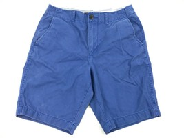 AMERICAN EAGLE Men's Blue Classic Length Chino Shorts Size 30 Style 6205 - $20.27