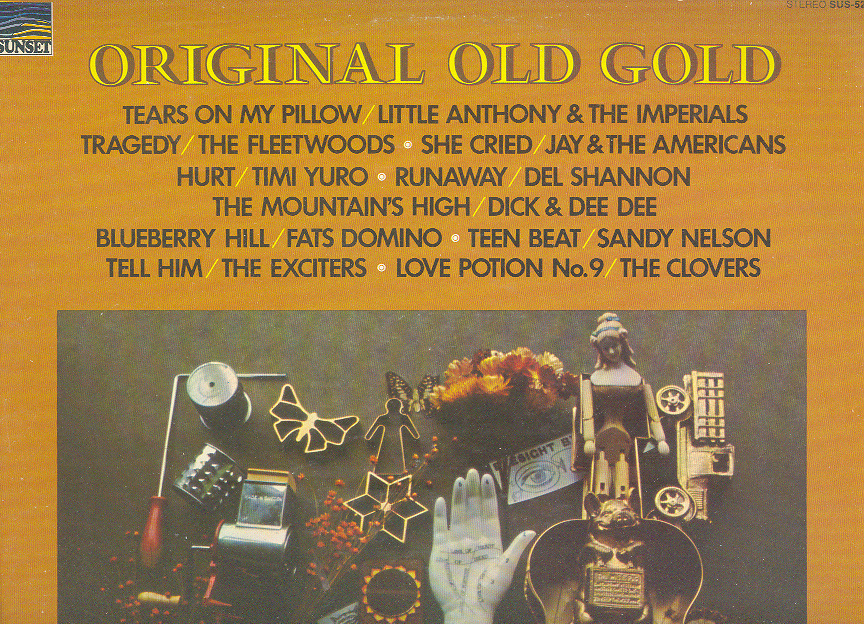 Primary image for ORIGINAL OLD GOLD LP Fleetwoods, Sandy Nelson, Clovers