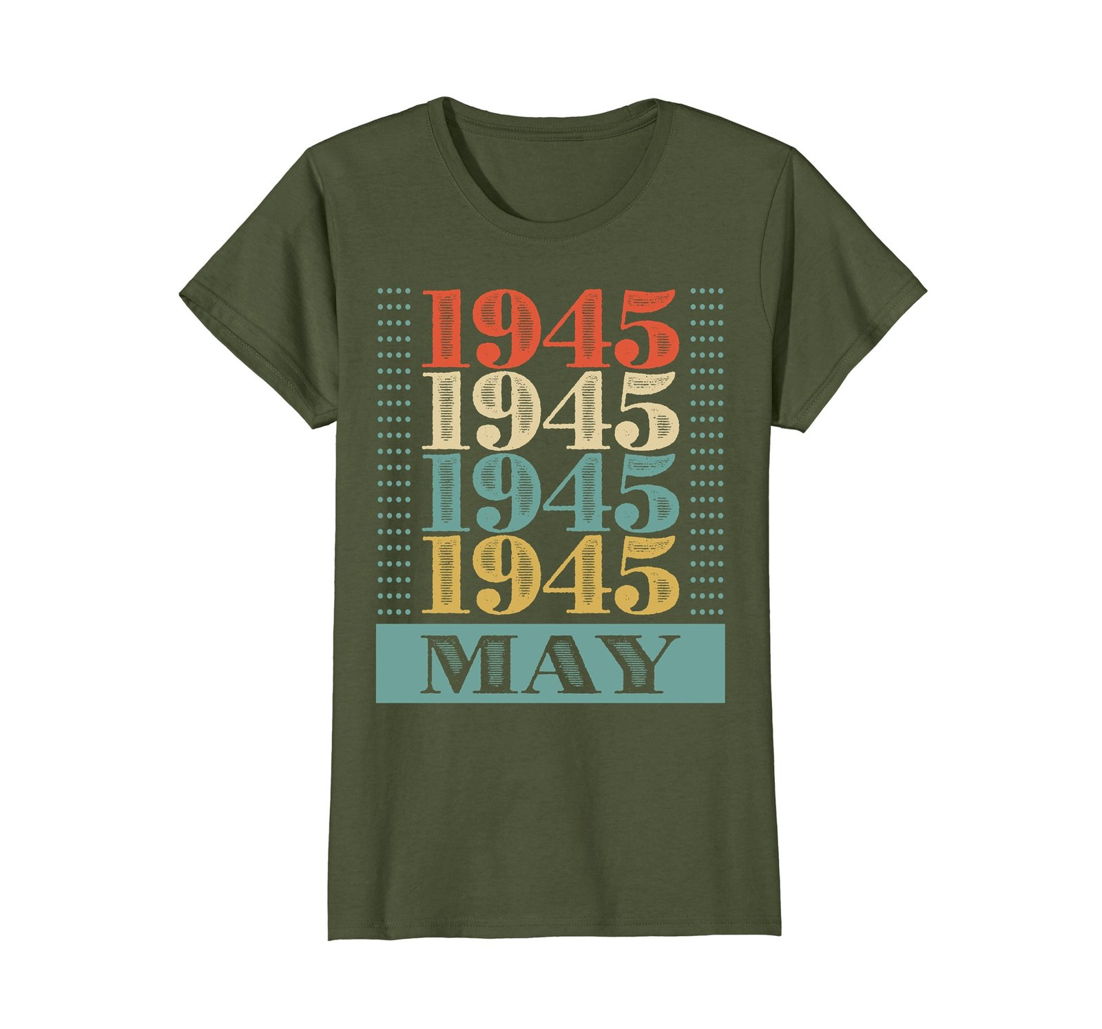 Funny Shirts - Retro Classic Vintage May 1945 73rd Birthday Gift 73 yrs old Wowe image 2
