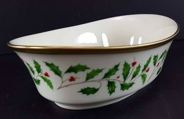 """LENOX China Holiday Dimension 10-1/4"""" Oval Vegetable Bowl Dinnerware image 5"""