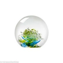 Evolution by Waterford  Cosmic Waters Paperweight NEW IN THE BOX - $89.09