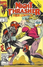(CB-10) 1992 Marvel Comic Book: Night Thrasher - Four Control #3 - $2.00