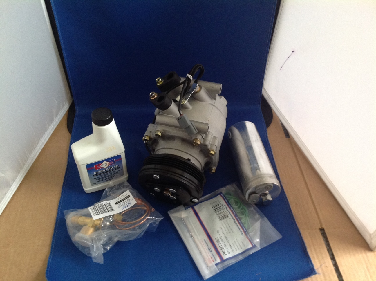 96 01 honda civic cr v ac air conditioning compressor kit  2