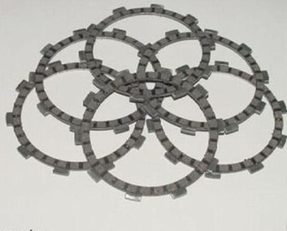 Honda Clutch Plates TRX250X Fourtrax 1987-1988 & 1991-1992 6 pcs NEW