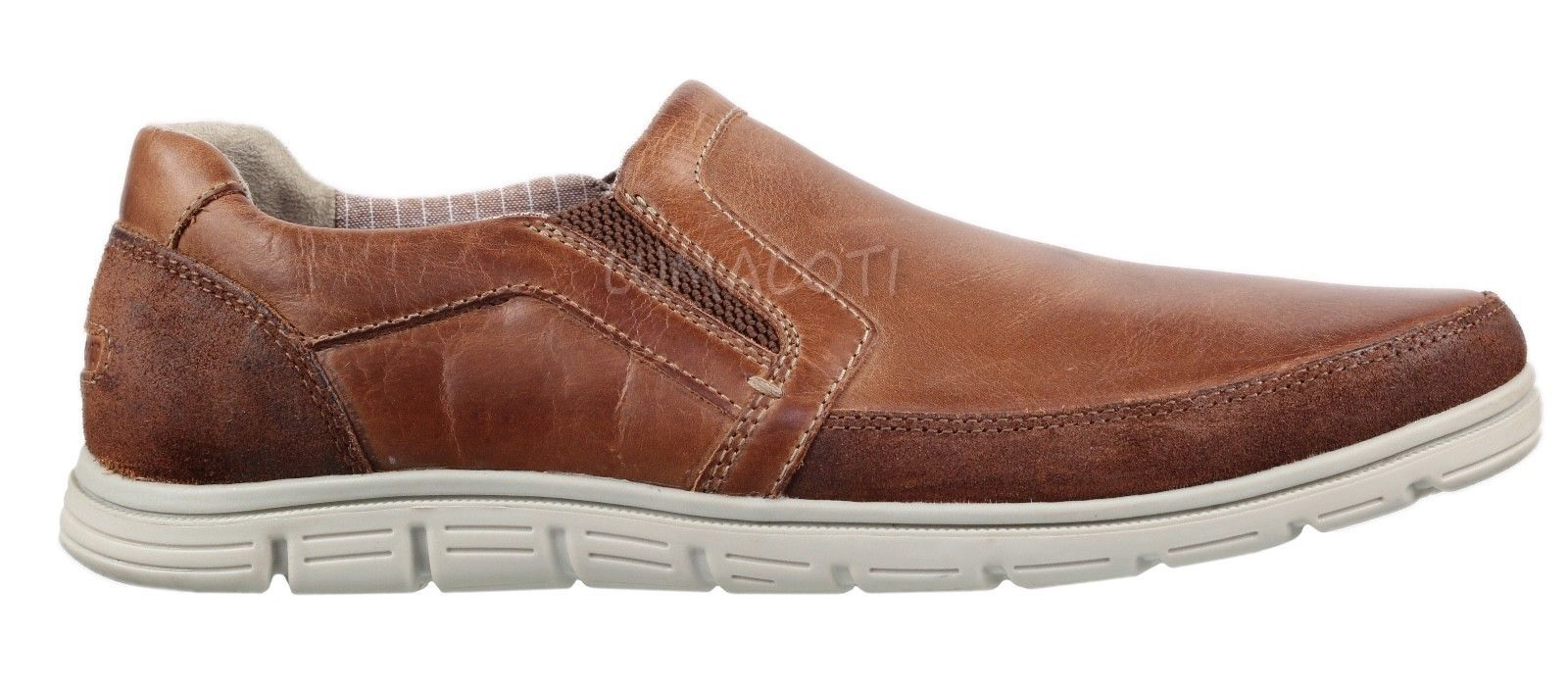 Mens Rockport Bowman Double Gore Slip-On Shoes [CG9842]