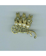 Bunnies  In a Wheelbarrow Pin Brooch Costume Jewelry - $5.99