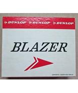 Vintage New in Box Dunlop Blazer Golf Balls One Dozen 1960s - $19.95