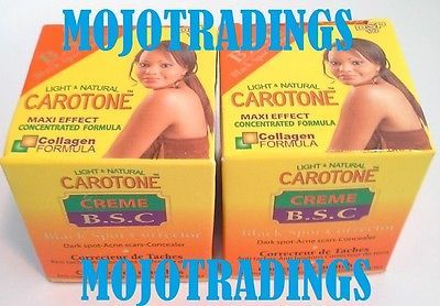 Primary image for CAROTONE 2 LOT! BLACK SPOT CORRECTOR Cream With HQ