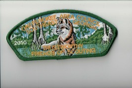 Okefenokee Area Council SA-41:2 2010 Friends of Scouting FOS Trustworthy... - $9.90