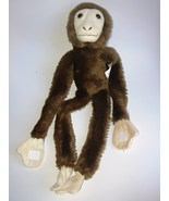 Wildlife Artists Plush Hanging Monkey Brown Tan... - $15.88