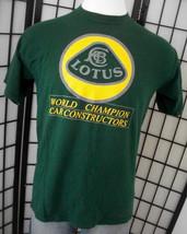 Lotus - World Champion Car Constructors - JERZEES green tee shirt large ... - $34.95