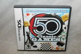 50 Classic Games (Nintendo DS, 2009) - $7.00
