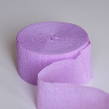 Lavender Crepe Paper 81FT Party Streamer Wedding Birthday Baby Shower - $101,56 MXN