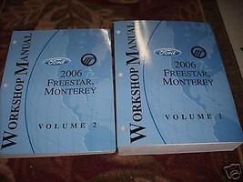 2006 Ford Freestar Mercury Monterey Van Workshop Repair Shop Service Man... - $9.85