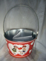 Bethany Lowe Tin Valentine Bucket for Wine or other Gifts image 1