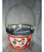 Bethany Lowe Tin Valentine Bucket for Wine or other Gifts  - $24.95