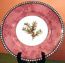 "Lenox Etchings English Yew Accent Luncheon Plate 9"" Made in USA New - $29.90"