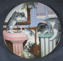 Mischief Makers Collector Plate Country Kitties Hamilton Gerardi Cat Kit... - $19.95