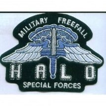 US Army HALO Special Forces Military Freefall Patch - $11.87