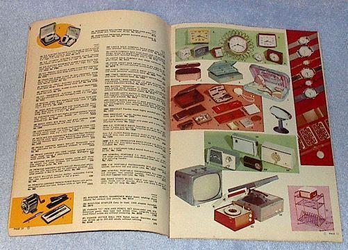 Vintage 1958 Hi-Lex Bleach Gift Premium Coupon Catalog no 20