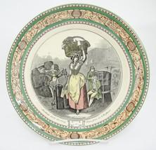 """Adams Cries of London Dinner Plate Scarlet Strawberries Wheatley 9.75"""" V... - $28.21"""