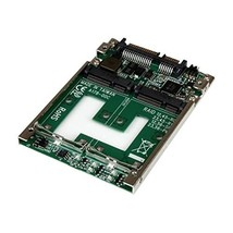 StarTech Dual mSATA SSD to 2.5 inch SATA Adapter with RAID and 7mm Open ... - $77.00