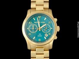 Michael Kors Ladies Gold Tone Watch - Owned & Worn By Olivia NEWTON-JOHN - $2,445.10