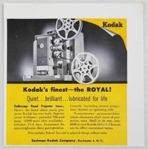 1955 Print Ad Kodak Kodascope 16mm Royal Projector Eastman Rochester,NY - $9.98