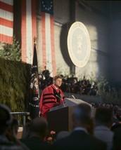 President John F. Kennedy speaks at the University of Washington -New 8x... - $6.61