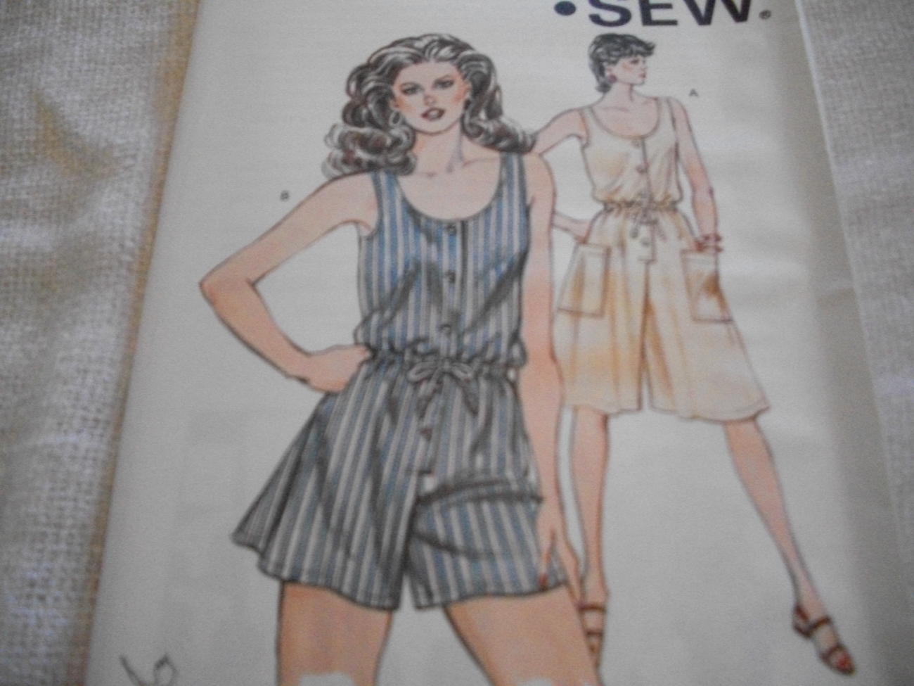 Primary image for Misses' Culotte Dress Pattern Kwik Sew 1333