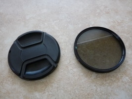 Nikon 77mm Lens Cap W/ Zeikos CPL 77mm Filter for 35MM Digital Camera - $12.99