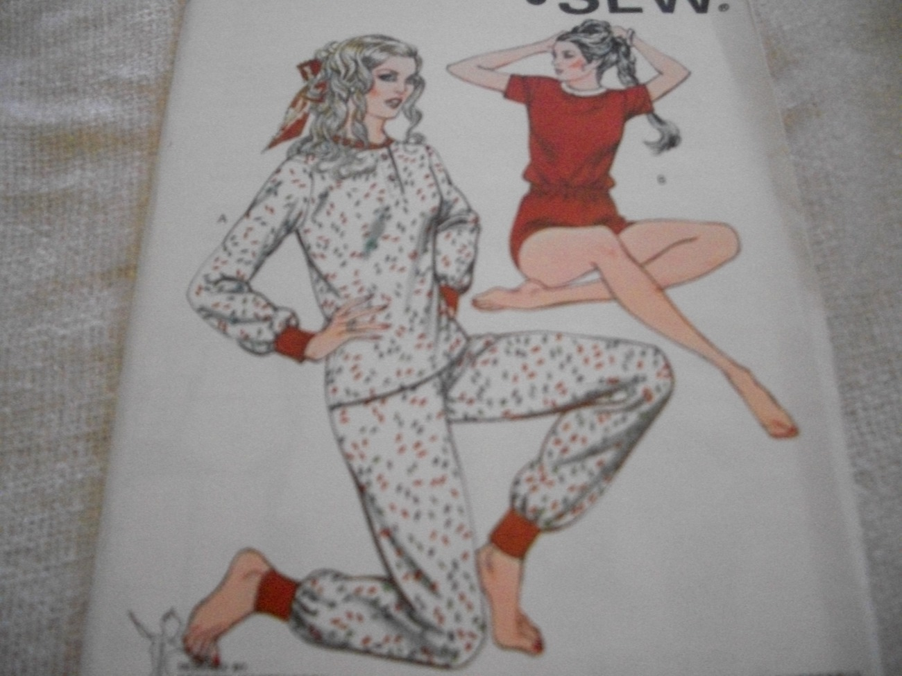 Primary image for Woman's Long or Short Pajama Pattern Kwik Sew 1328