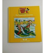 the impossible journey  World's Of Wonder Mickey Mouse  hardback - $2.38