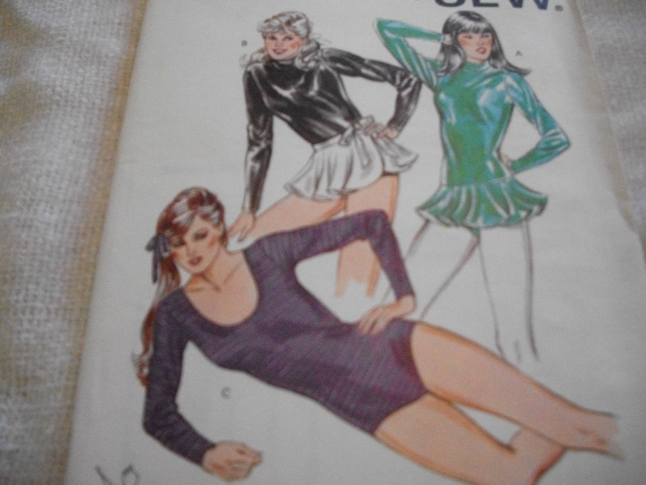 Primary image for Woman's Leotards & Wrap Skirt Pattern Kwik Sew 1301