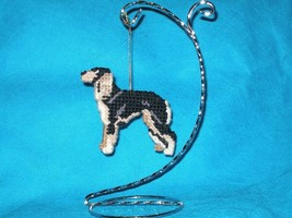 Saluki ornament home decor handcrafted dog art for everyday display or C... - $22.00