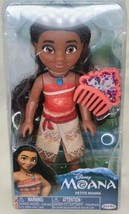 Disney 6 inch Moana Petite Adventure Doll Figure with Comb, New 2020 Release - $15.75