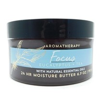 Bath & Body Works Aromatherapy Focus Eucalyptus + Tea 24 HR Moisture But... - $13.72