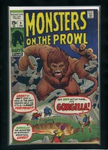 Monsters on the Prowl #9 G 1971 Marvel Comic Book - $9.89