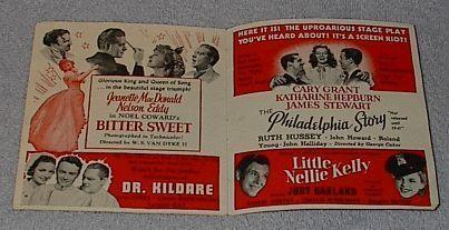 MGM 1940-41 Movie Screen Forecast Booklet Ziegfeld Girl