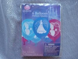 Disney Cinderella Princess Balloons; Princess Birthday Decor; Princess Showers - $5.89