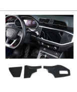 Carbon Fiber Style For AUDI Q3 2019 Car Dashboard Decoration Cover Trim ... - $37.10