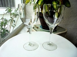 Set of 2 Libbey Domaine Clear Water Goblets - $25.73