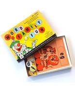 Vintage Word Family Game Educational Phonetic Phonics Circus Clown Kenwo... - $18.76