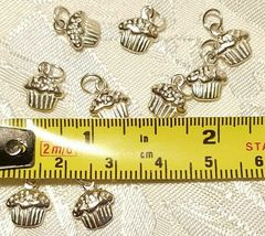FOOD AND DRINK STERLING SILVER CHARM .925 - YOU CHOOSE image 4