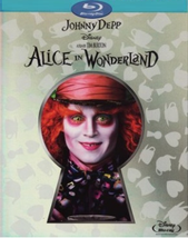 Disney Alice In Wonderland [Blu-Ray+DVD] Best Buy Keyhole Slipcase with cards