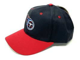 Tennessee Titans Vintage NFL Navy/Red Twill Snapback Replica Cap (New) B... - $19.99