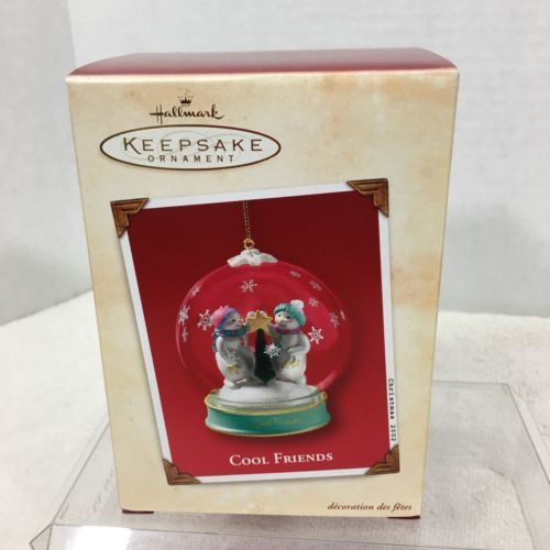 Primary image for 2002 Cool Friends Hallmark Christmas Tree Ornament MIB Price Tag H2