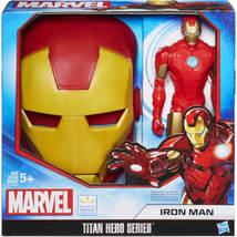 Marvel Titan Hero Series. Iron Man Action Figure and Face Mask gift set. - $14.99