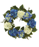 "24"" Hydrangea Wreath, Neatly Natural 4223 - $73.01"